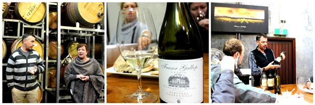 Wine-tasting at Fraser Gallop Estate - Margaret River - Western Australia - collage zoedawes