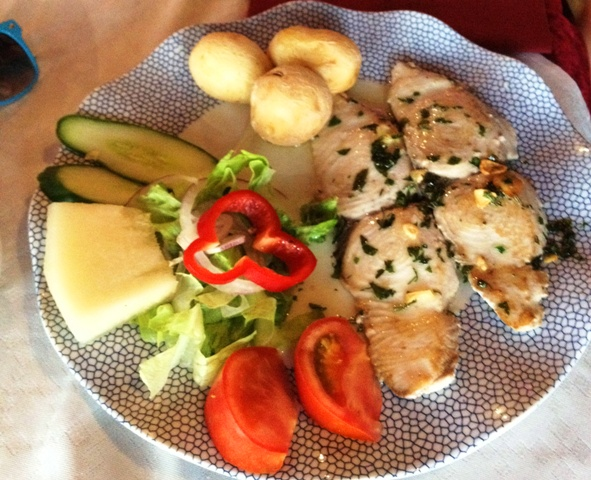 Fish - wahoo at Grill Costa Mar, Puerto Rico Gran Canaria