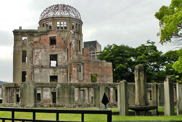 Hiroshima Peace Memorial in Japan