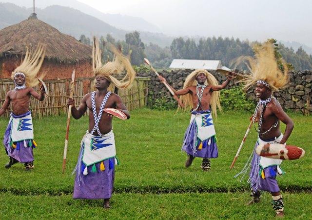 Iby'iwacu village dancers Rwanda - photo Zoe Dawes