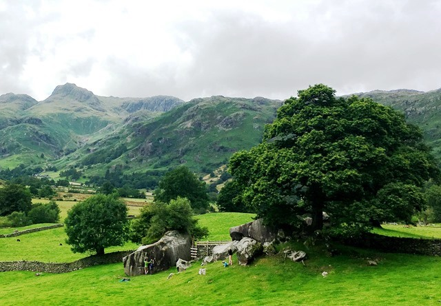 Langdale Valley in the Lake District World Heritage site - photo Zoe Dawes