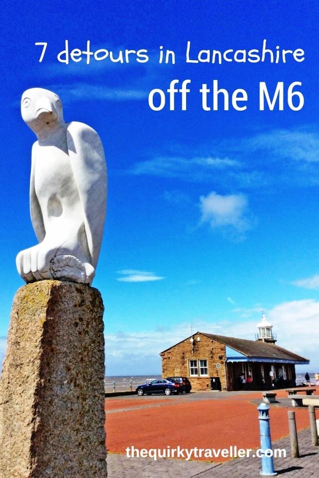 M6 detours in Lancashire