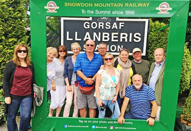 Llanberis Station Snowdon Mountain Railway North Wales - photo Zoe Dawes