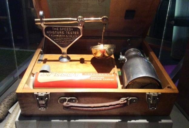 Moisture tester Dundee Jute Museum Scotland