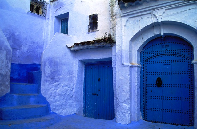 Moroccan medina house