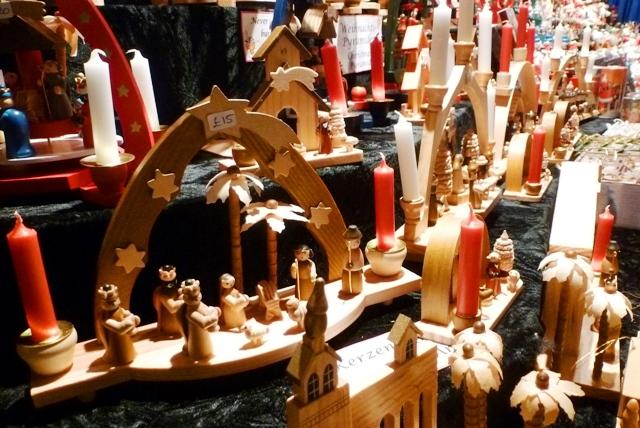 Nativity scene ManchesterChristmas market - image zoedawes