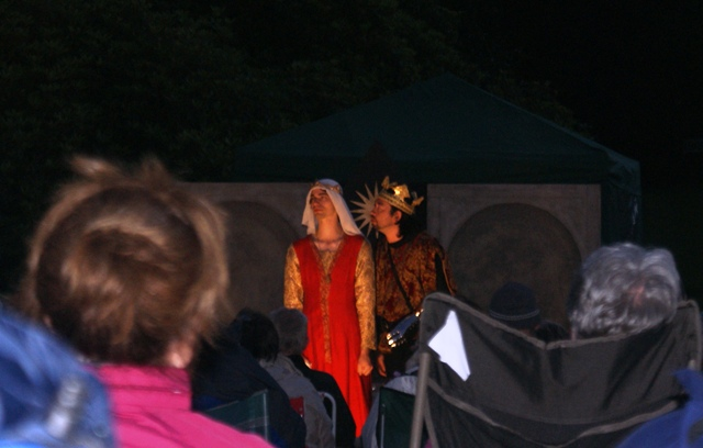 Night scene Richard III