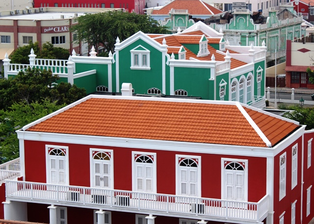 Oranjestad, capital of Aruba