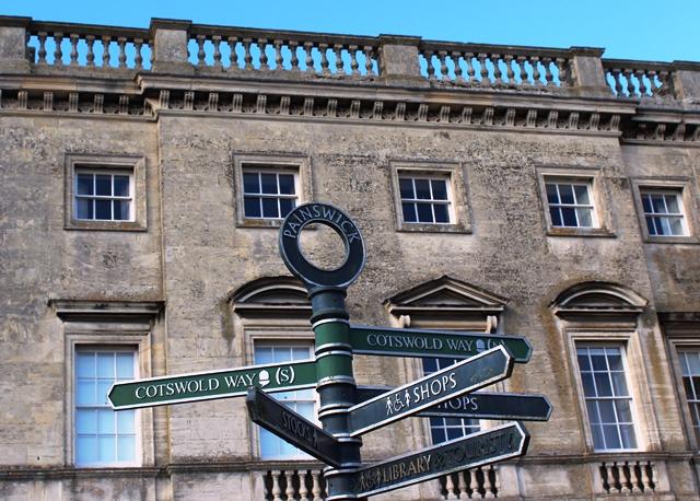 Painswick signpost