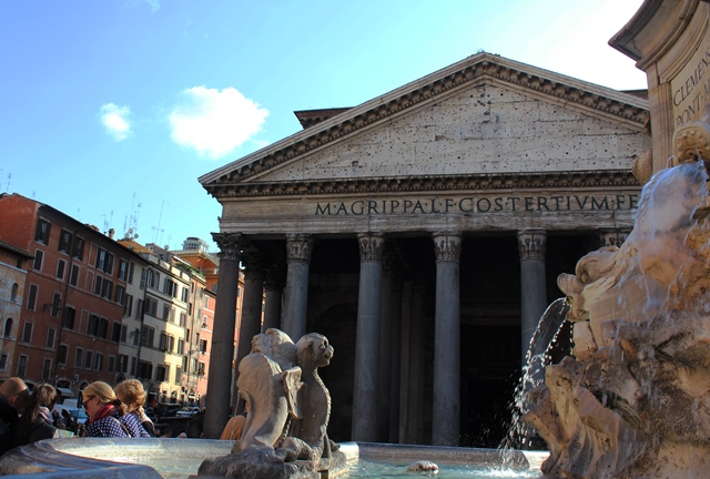 The Pantheon - 48 hours in Rome - zoedawes