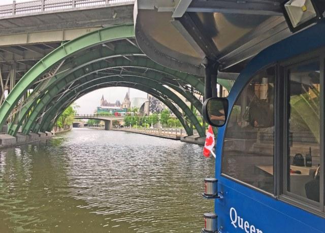Rideau Canal boat trip Ottawa