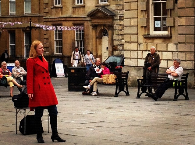 Opera singer in Bath