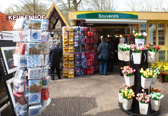 Keukenhof souvenir shop - by Zoe Dawes