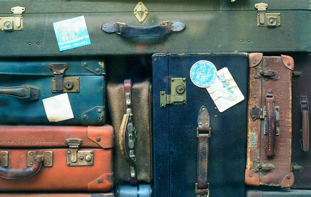 Luggage - old suitcases