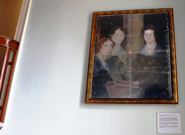 The Bronte Sisters - Pillar Portrait at Bronte Parsonage