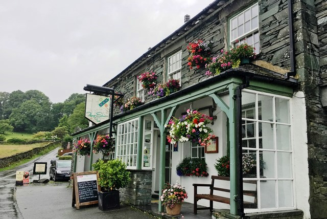 Three Shires Inn Langdale Valley