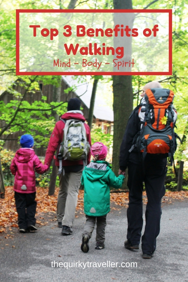 Top 3 Benefits of Walking