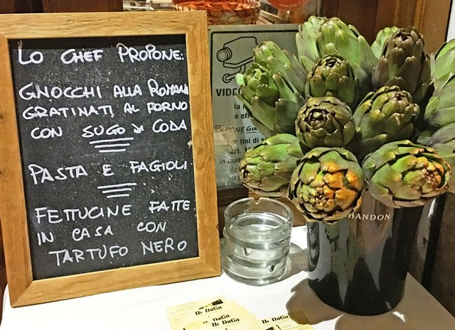 Artichokes in Trastevere Rome - photo zoe dawes