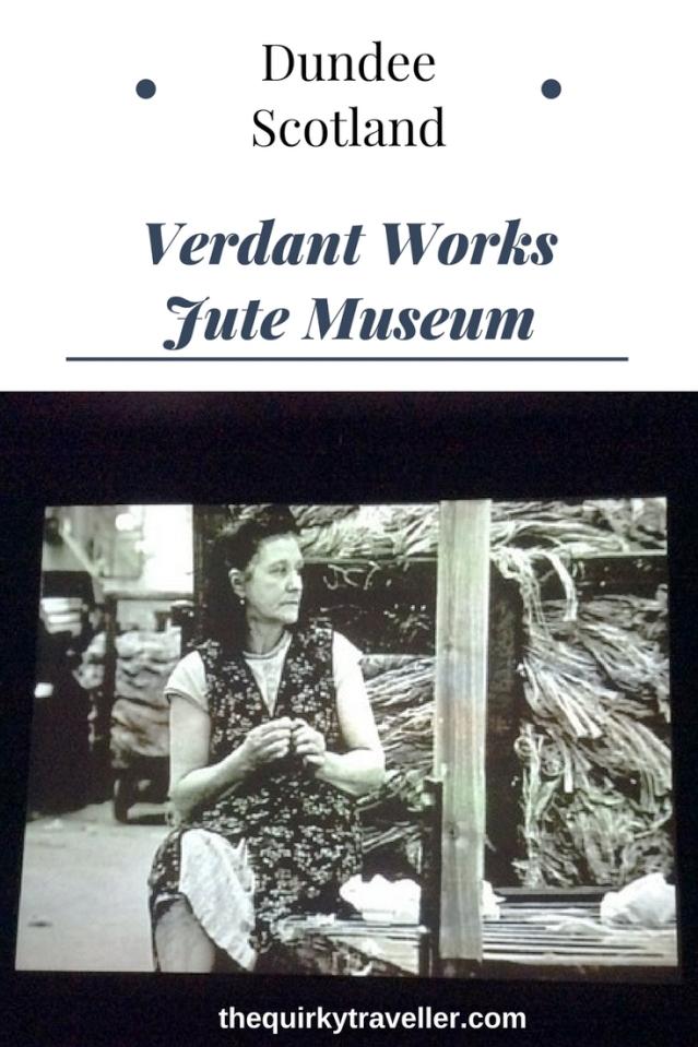 Verdant Works Jute Museum Dundee Scotland