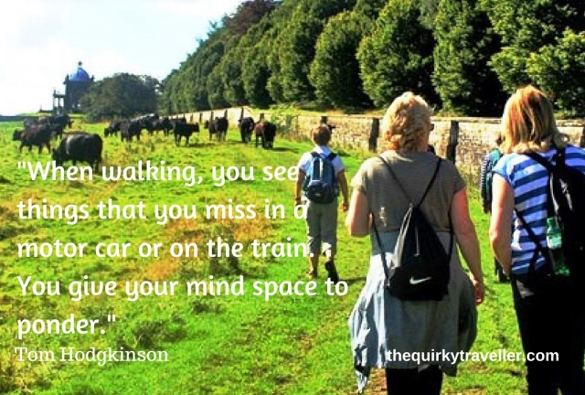 Walk n Talk - The Quirky Traveller - photo at Castle Howard