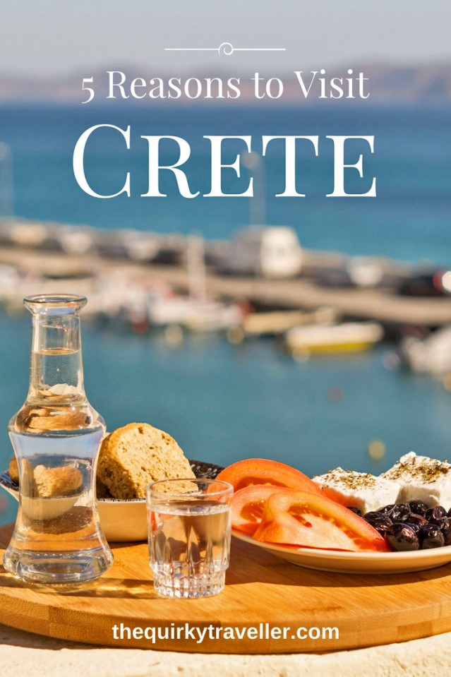 5 reasons to visit Crete Greece