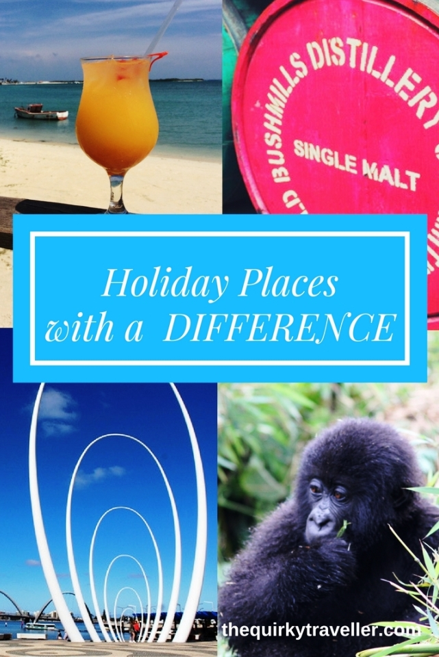 Top Holiday Places with a difference