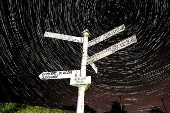 Blagdon_Cross_Startrails Exmoor