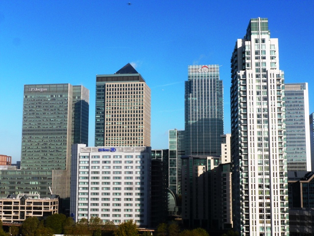 Canary Wharf, Docklands, London by Zoe Dawes