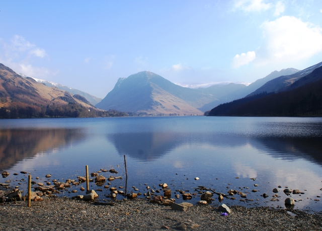 View of Haystacks from Buttermere, Lake District - image by Zoe Dawes