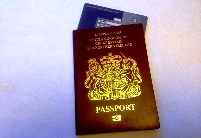 Passport and EHIC - image Zoe Dawes