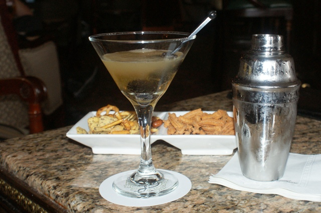 Cocktails In The Chateau Frontenac