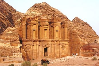 Ad Deir - the Monastery at Petra Jordan - My 7 World Wonders - The Quirky Traveller