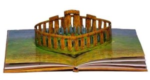 Amazing popup Stonehenge book - photo English Heritage