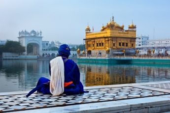 Golden Celebrating India Independence Day - Temple at Amritsar India - photo Indus Experiences