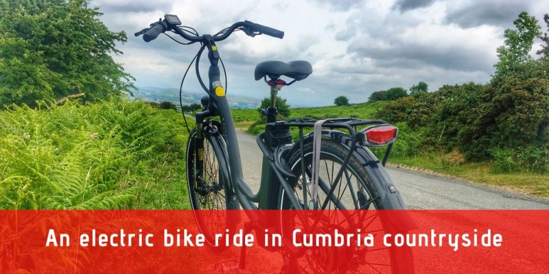 An electric bike ride in Cumbiria with The Quirky Traveller