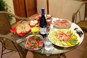 Lunch in Jerez Spain Andalucia-meal