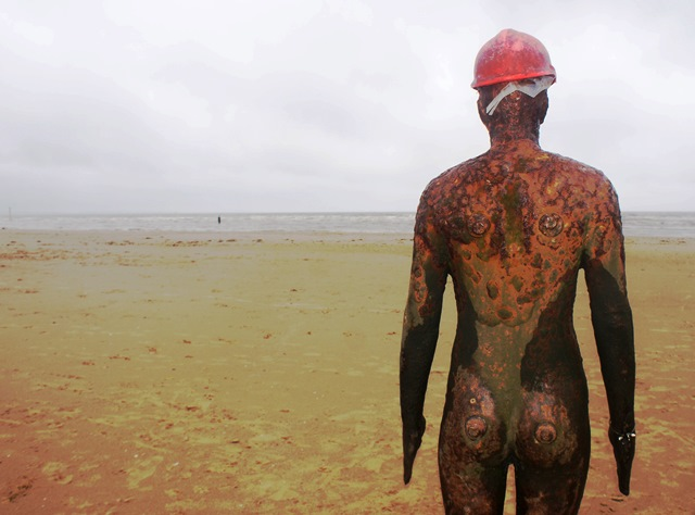 Another Place by Antony Gormley Crosby - photo zoedawes