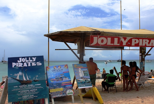 Jolly Pirates Boat trips Aruba - zoedawes
