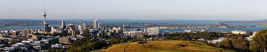 Auckland Panoramic view - image by Chmehl