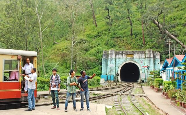 Barog Tunnel, the longest on the Kalka-Shimla Toy Train route