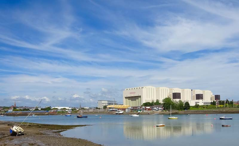 Barrow in Furness from Walney island - around Morecambe Bay with The Quirky Traveller