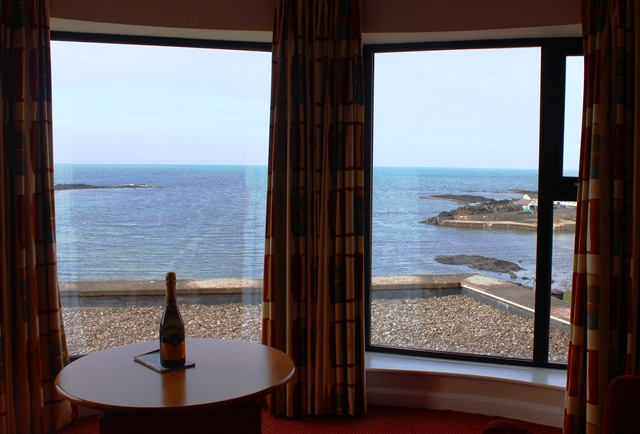 Portballintrae from Bay View Hotel bedroom