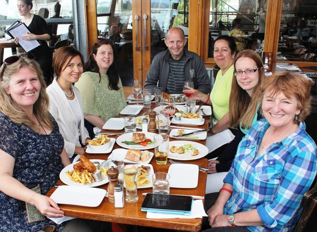 Explore Canada media group Sandbar Restaurant Vancouver
