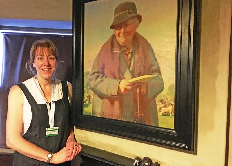 Beatrix Potter and Liz Hunter Macfarlane Hawkshead Gallery