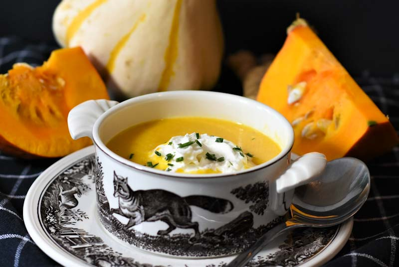 Best ever pumpkin soup recipe
