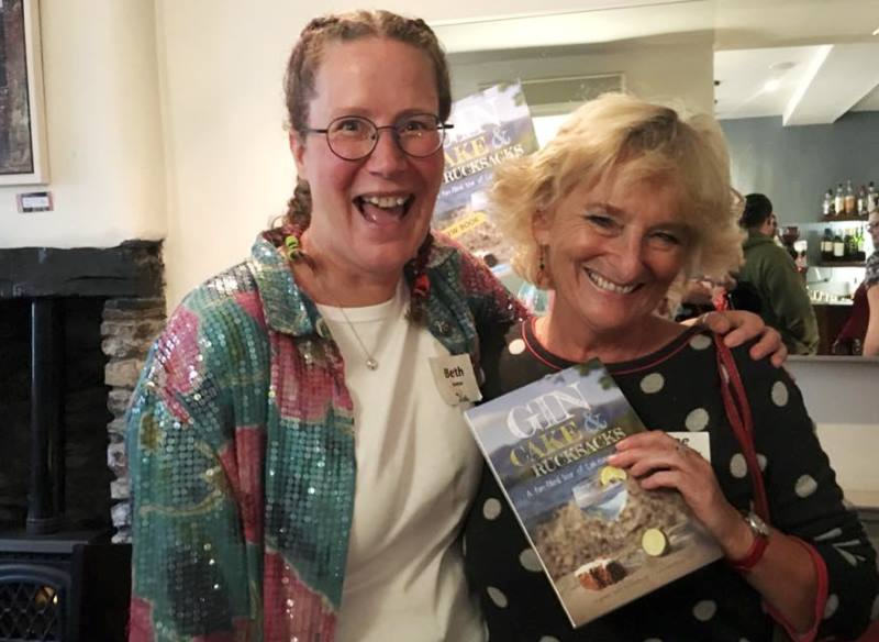 Beth Pipe Author Gin Cakes and Rucksacks guide book