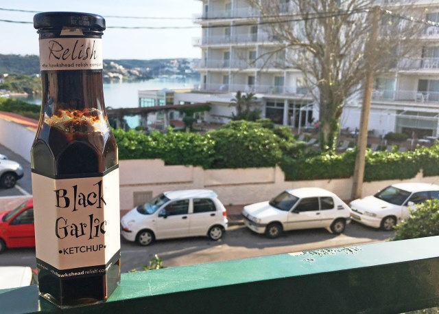 Black Garlic Ketchup - in Menorca