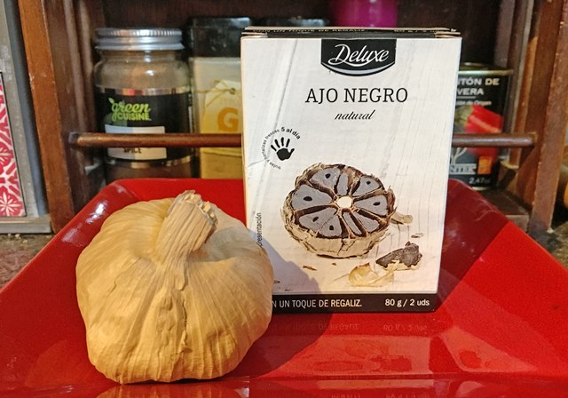 Spanish Black Garlic - photo zoe dawes