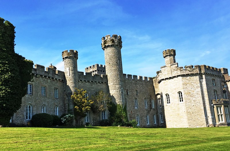Bodelwyddan Castle Denbighshire NE Wales