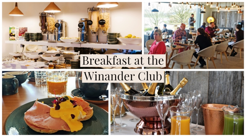 Breakfast at the Winander Club Low Wood Bay Resort and Spa in the Lake District